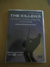 Rock Tutorial 10-Minute Teacher THE KILLERS When You Were Young  DVD NEW