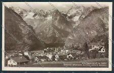 Aosta Courmayeur Foto cartolina D9354 SZI