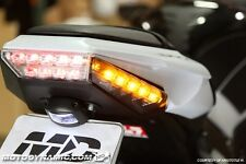 2011-2015 Kawasaki Ninja ZX-10R Rear Panel Sequential LED Turn Signal Smoke Lens