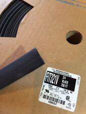 """10ft ALPHA WIRE. 3/4"""" Black FIT-321V Flame-Retardant heat shrink tubing"""
