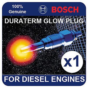 GLP001 BOSCH GLOW PLUG LAND ROVER Defender 90 2.5 Diesel 90-01 67bhp