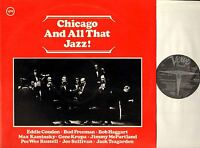 CHICAGO AND ALL THAT JAZZ eddie condon/max kaminsky DOUBLE LP EX/EX 2683 051 uk