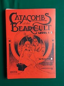 Tunnels and Trolls Catacombs of the Bear Cult, 1st printing, 1981