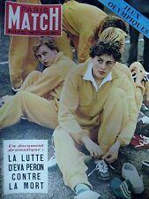 PARIS MATCH N° 176 de 1952  EVA PERON JEUX OLYMPIQUES HELSINKI  ZATOPEK COPPI