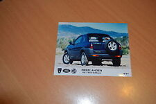 PHOTO DE PRESSE ( PRESS PHOTO ) Land Rover Freelander XE Softback de 1997 R0162