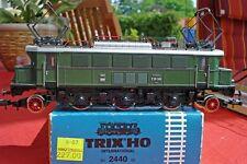 Trix 2440 vieille machine loco électrique E 05 001 vert Le DRG/DR Ep.2/3