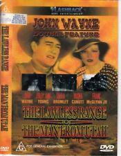 The Lawless Range  / Man From Utah (DVD, 2001) John Wayne
