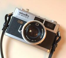 Minolta Hi-Matic E Rangefinder with 40mm f1.7 Lens Working Great Looking Great