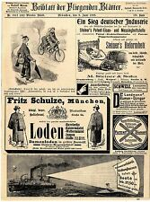 M. Steiner & hijo Frankenberg i. s. reforma cama acetileno-bicicleta-farol... 1899
