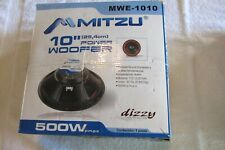 "1 - 10"" Mitzu Power Woofer Speaker 500W Loudspeaker 4 Ohm"