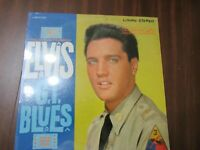RARE 1960 ORIG ELVIS GI BLUES lp 1st LIVING STEREO label RCA LSP 2256 IN SHRINK