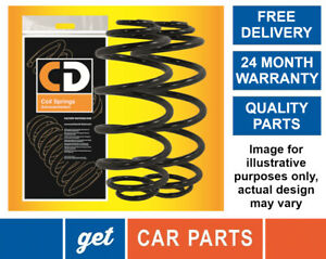 Rear Coil Springs x 2 for Nissan Pathfinder (R51) 2.5 / 4.0 from 2005-2015 CD