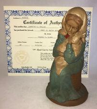 Signed Mint 1986 Tom Clark Gnome Nativity 1143 Mary Ii with Jesus ed 18 Coa