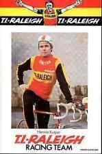 HENNIE KUIPER Team 1977 TI RALEIGH 70s Cyclisme Cycling ciclismo wielrennen