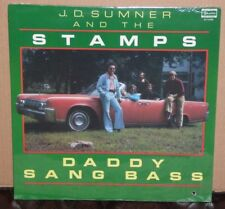 J.D. Sumner and the Stamps Daddy Sang Bass SEALED LP vinyl record cut out