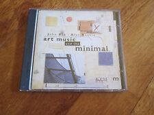 JOHN REA ALAN REEKIE Art Music And Minimal CD KPM LIBRARY MUSIC UNCONVENTIONAL