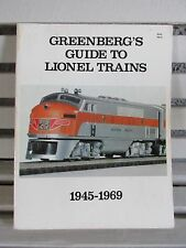 Greenbergs Guide to Lionel Trains 1945 - 1969, Softcover, Good Condition