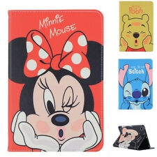 Flip Disney Smart Leather Stand Case Cover Defender For Apple iPad Pro Mini Air