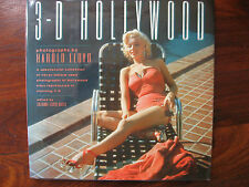 3-D Hollywood by Harold Lloyd A Collection of photographs of stars reproduced HC