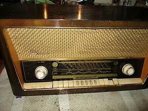 Grundig Zauberklang 3068 Röhrenradio Vintage zum Herrrichten oder E-Teile