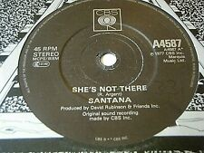 "SANTANA - SHE'S NOT THERE / SAMBA PA TI  7"" VINYL"