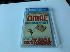 OMAC 1 CGC 9.2 WHITE PAGES ORIGIN AND 1ST APPEARANCE DC COMICS