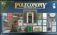 Poleconomy Boardgame - Woodrush Games 1983 - Vintage