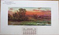 Salisbury, MD 1914 Advertising Calendar/Poster - Fertilizer - Maryland