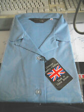 "New 1 x Quality Girls School Blouse Shirts Size 44"" with button loop"