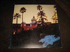 "1976 Eagles ""Hotel California"" LP - STERLING Early Press! Asylum (7E-1084) EX"