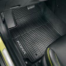 Genuine Hyundai KONA tutte le condizioni atmosferiche tappeto pedane, NERO J9131ADE10