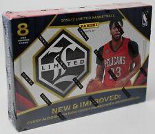 2016-17 Limited Basketball Panini Factory Sealed Hobby Box