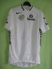 Maillot cycliste Blanc 2004 Nike Tour de France Meilleur jeune jersey - XL