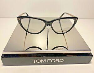 TOM FORD TF5354 FRAME COLOUR 001 SHINY BLACK/GOLD 53MM-14MM