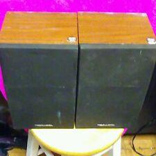 Pair Realistic Minimus-26 Cat No. 40-226a Book Shelf Speakers