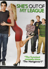 "MAKE OFFER FREE SHIP ""She's Out of My League"" DVD Alice Eve raunch romcom"
