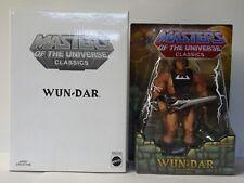 Maitres de l'Univers - MOTU Classics - Wun-Dar The Savage He-Man - Mattel 2009