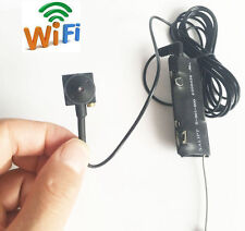 wireless WIFI IP HD spy tiny mini DIY hidden nanny camera network DVR recorder