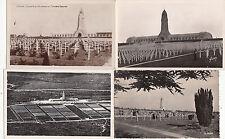 Lot 4 cartes postales anciennes GUERRE 14-18 WW1 VERDUN DOUAUMONT cimetière 3
