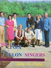 The Rex Nelon Singers SING THE GOSPEL Janet Paschal 1981 vinyl LP NM+bonus CD
