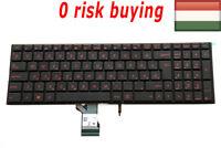 100% Positive for Asus G501V G501VW Laptop Keyboard Hungarian Magyar HU Backlit