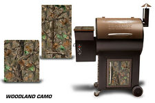 Traeger Smoker Grill Graphic Kit Decal Wrap Skin For CostCo Century Model WCAMO