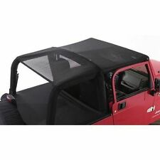 Rampage 94401 Combo Top Brief w/ Storage Pocket Mesh fits 07-13 Wrangler JK 2-DR