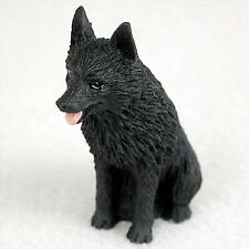Schipperke Dog Figurine, Tiny Ones