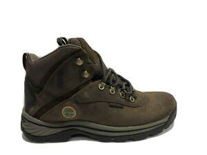 Timberland, White Ledge Mid Mens Waterproof Hiking Boots Brown US10 M