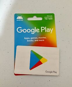 google play gift card $200 Worth