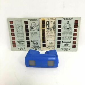 Vintage Tru Vue Stereoscopic Viewmaster W/ Film Cards