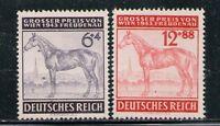 ALEMANIA/GERMANY 1944 MNH SC.B244/B245 YT.777/778 Grand Prize of the Freudenau