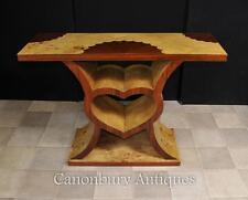 Art deco coeur table console 1920s moderniste meuble