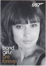 JAMES BOND IN MOTION BOND GIRLS ARE FOREVER INSERT BG49 CAMILLE OLGA KURYLENKO